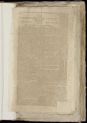 Middelburgsche Courant 1799
