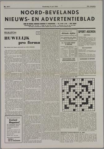 Noord-Bevelands Nieuws- en advertentieblad 1983-06-09