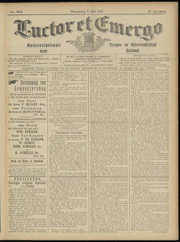 Luctor et Emergo. Antirevolutionair nieuws- en advertentieblad voor Zeeland / Zeeuwsch-Vlaanderen. Orgaan ter verspreiding van de christelijke beginselen in Zeeuwsch-Vlaanderen 1913-07-09