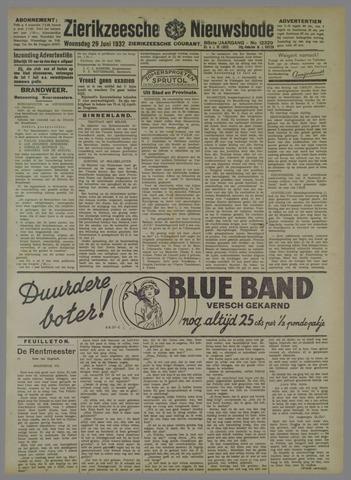 Zierikzeesche Nieuwsbode 1932-06-29