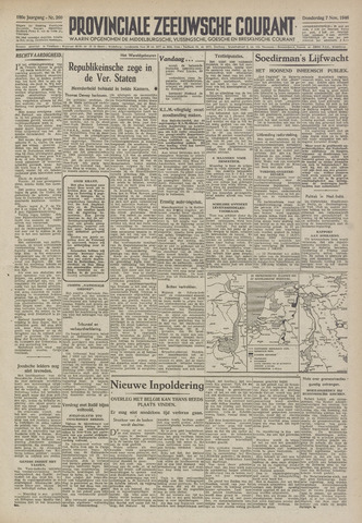 Provinciale Zeeuwse Courant 1946-11-07