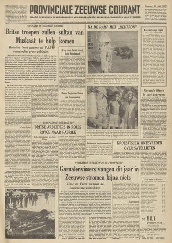 Provinciale Zeeuwse Courant 1957-07-23