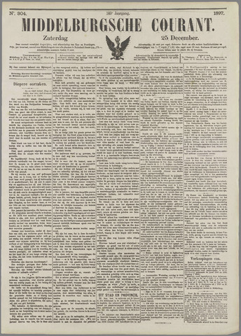 Middelburgsche Courant 1897-12-25