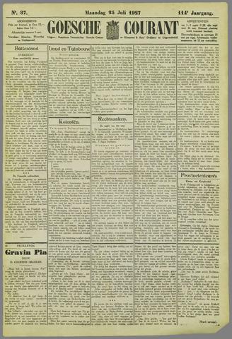 Goessche Courant 1927-07-25