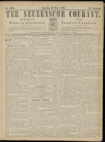 Ter Neuzensche Courant. Algemeen Nieuws- en Advertentieblad voor Zeeuwsch-Vlaanderen / Neuzensche Courant ... (idem) / (Algemeen) nieuws en advertentieblad voor Zeeuwsch-Vlaanderen 1901-03-30