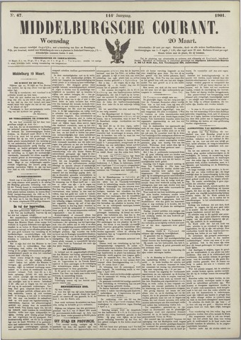 Middelburgsche Courant 1901-03-20