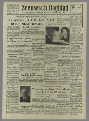Zeeuwsch Dagblad 1958-03-10