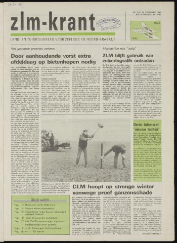 Zeeuwsch landbouwblad ... ZLM land- en tuinbouwblad 1993-11-26