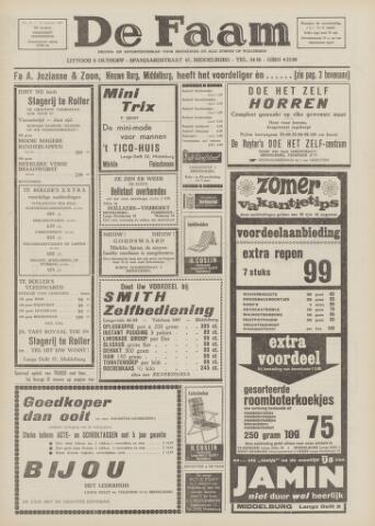 de Faam en de Faam/de Vlissinger 1967-08-10