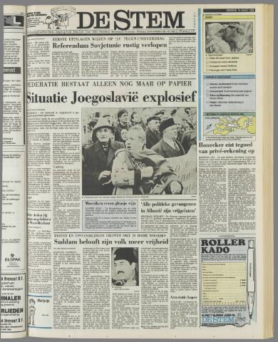 de Stem 1991-03-18