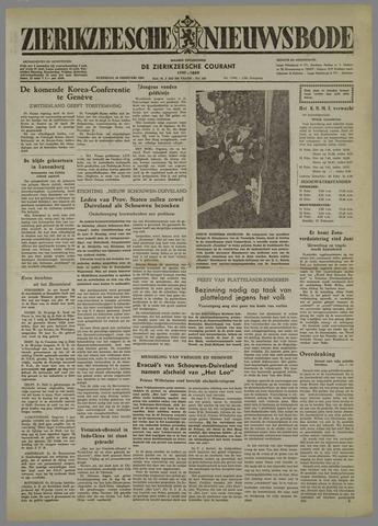 Zierikzeesche Nieuwsbode 1954-02-20