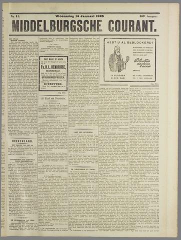 Middelburgsche Courant 1925-01-14