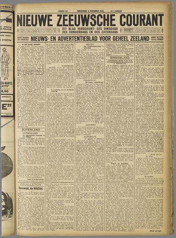 Nieuwe Zeeuwsche Courant 1923-11-08