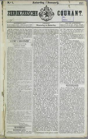 Zierikzeesche Courant 1857