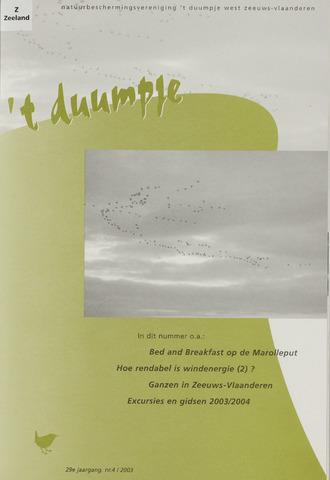 t Duumpje 2003-12-01
