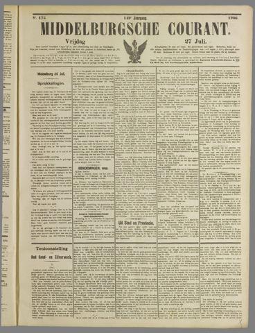 Middelburgsche Courant 1906-07-27