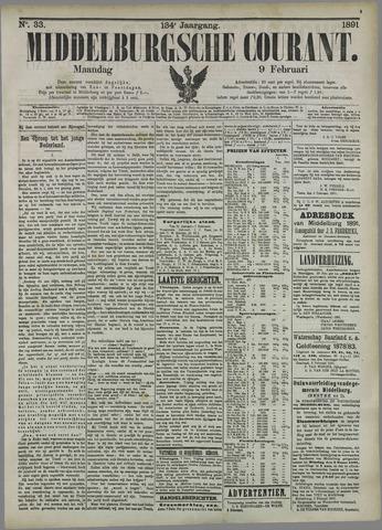 Middelburgsche Courant 1891-02-09