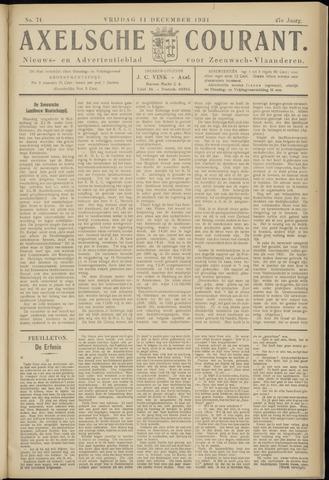 Axelsche Courant 1931-12-11