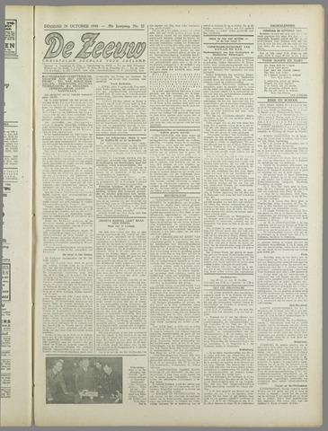 De Zeeuw. Christelijk-historisch nieuwsblad voor Zeeland 1943-10-26
