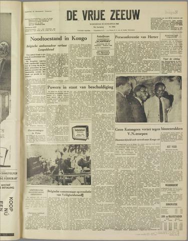 de Vrije Zeeuw 1960-08-10