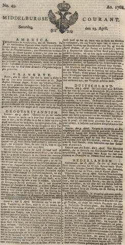 Middelburgsche Courant 1768-04-23