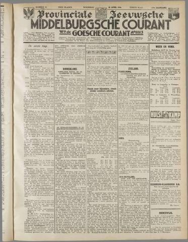 Middelburgsche Courant 1936-04-22