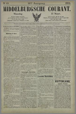 Middelburgsche Courant 1884-03-17