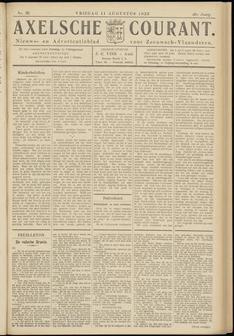 Axelsche Courant 1933-08-11