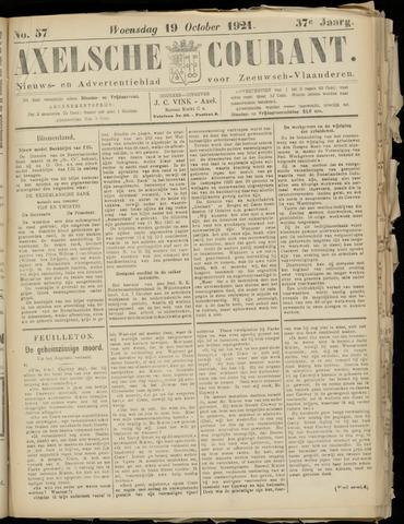 Axelsche Courant 1921-10-19