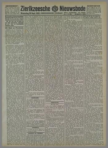Zierikzeesche Nieuwsbode 1932-09-28