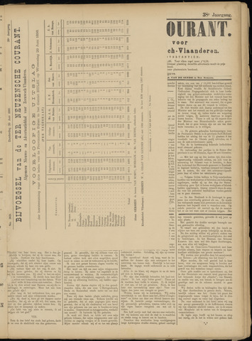 Ter Neuzensche Courant. Algemeen Nieuws- en Advertentieblad voor Zeeuwsch-Vlaanderen / Neuzensche Courant ... (idem) / (Algemeen) nieuws en advertentieblad voor Zeeuwsch-Vlaanderen 1898-06-30