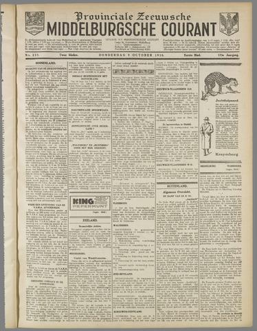 Middelburgsche Courant 1930-10-09