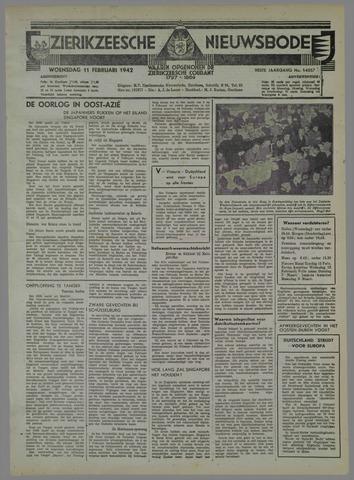 Zierikzeesche Nieuwsbode 1942-02-11