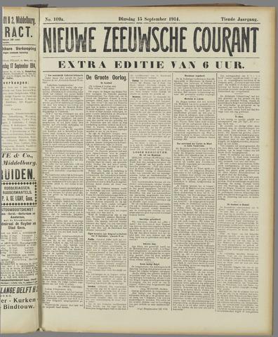 Nieuwe Zeeuwsche Courant 1914-09-15