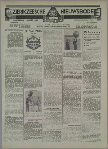 Zierikzeesche Nieuwsbode 1936-03-12