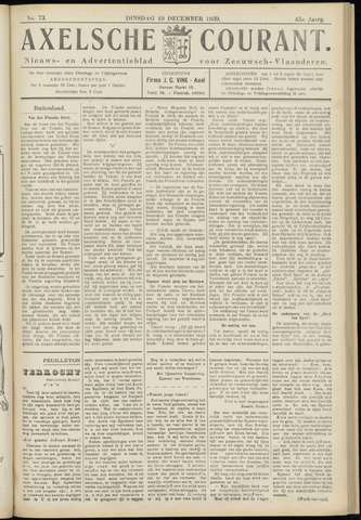 Axelsche Courant 1939-12-19