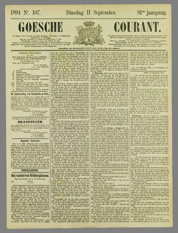 Goessche Courant 1894-09-11