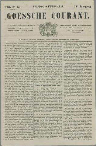 Goessche Courant 1867-02-08