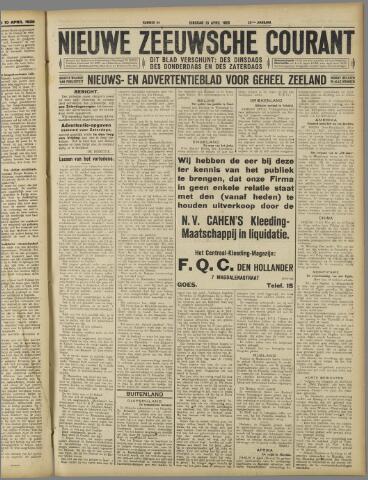 Nieuwe Zeeuwsche Courant 1926-04-13