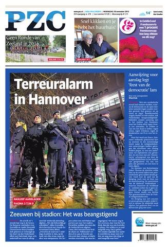 Provinciale Zeeuwse Courant 2015-11-18