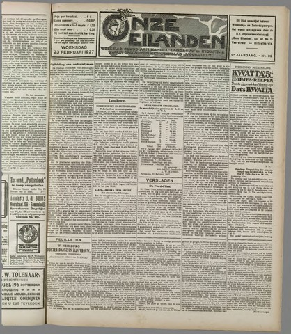 Onze Eilanden 1927-02-23