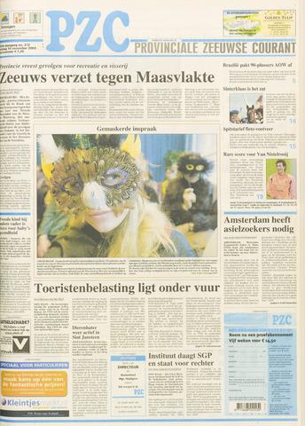Provinciale Zeeuwse Courant 2003-11-14