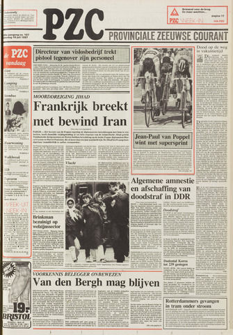 Provinciale Zeeuwse Courant 1987-07-18