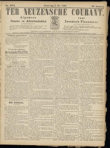 Ter Neuzensche Courant. Algemeen Nieuws- en Advertentieblad voor Zeeuwsch-Vlaanderen / Neuzensche Courant ... (idem) / (Algemeen) nieuws en advertentieblad voor Zeeuwsch-Vlaanderen 1900-05-03