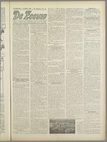 De Zeeuw. Christelijk-historisch nieuwsblad voor Zeeland 1944-03-01