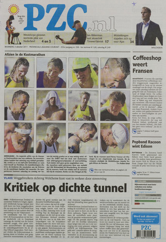 Provinciale Zeeuwse Courant 2011-10-03
