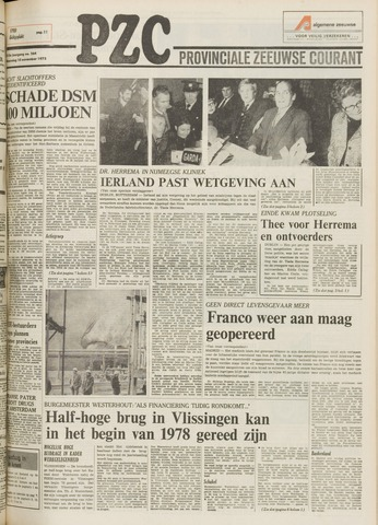 Provinciale Zeeuwse Courant 1975-11-10
