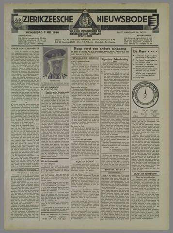 Zierikzeesche Nieuwsbode 1940-05-09