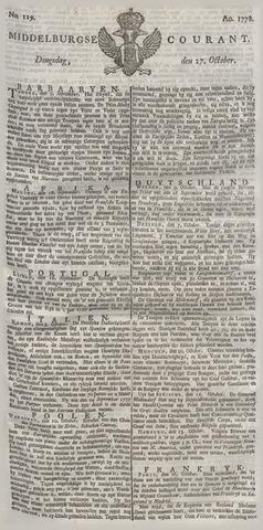 Middelburgsche Courant 1778-10-27