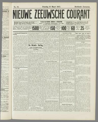 Nieuwe Zeeuwsche Courant 1917-03-13